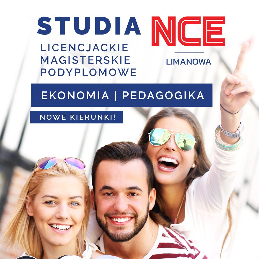 _Studia Limanowa Nowy Sącz Licencjackie, Magisterskie, Podyplomowe